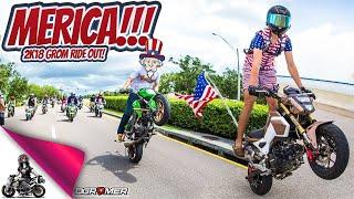 7. 2018 Honda Grom Merica Group Ride