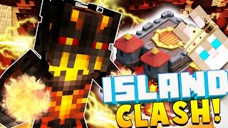 WIZARD ENCHANTS AND POTIONS - Minecraft ISLAND CLASH #6