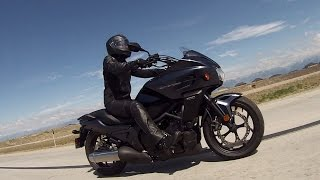 8. Girl and her Bike 2015 Honda CTX700