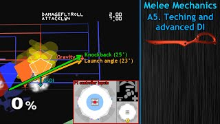 Melee Mechanics: Teching and advanced DI