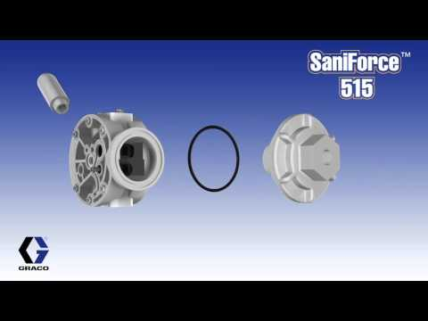 SaniForce 515 Sanitary Pumps
