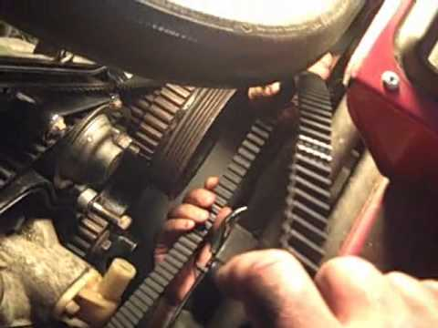 Timing Belt Change Porsche 944 – Video #7.wmv