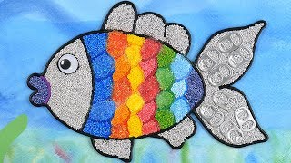 Rainbow Fish Warna-Warni Belajar Menggambar dan Mewarnai untuk Anak