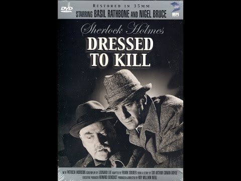 Sherlock Holmes Dressed To Kill (1946)  Hd Stars: Basil Rathbone, Nigel Bruce   Full Movie