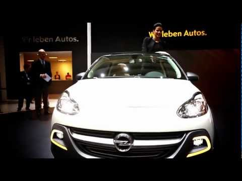 New Vauxhall Adam Rocks sneak preview – Geneva Motor Show 2013