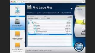 How To Use Find Large Files Tool - Clean Up Mac