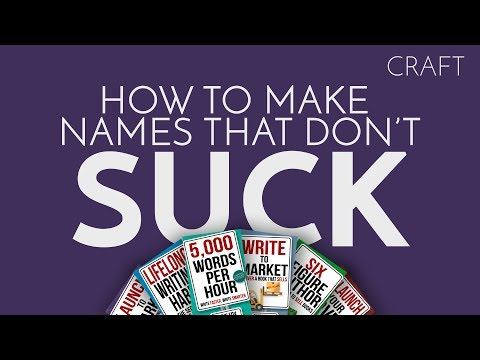 Worldbuilding #1- How to Make Names That Don't Suck