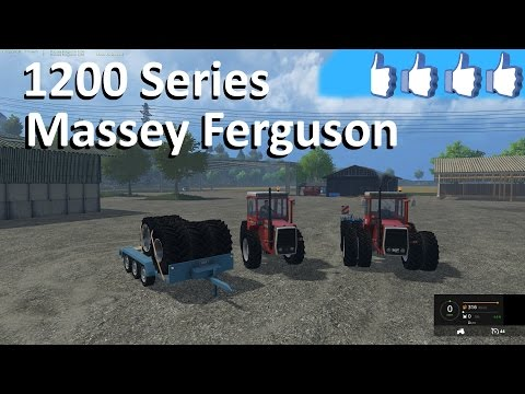 Massey Ferguson 1200 and 1250 v1.0