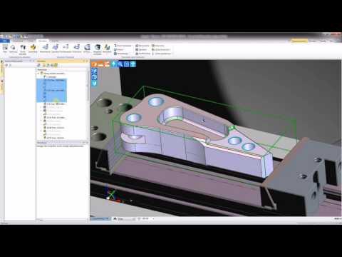 Tworzenie szablonu obróbki w Edgecam (видео)