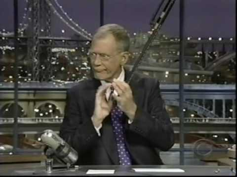 David Letterman - 1st Show After Heart Surgery