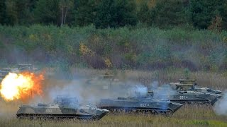Форсирование реки и проведение боевых стрельб в рамках КШУ со 106-ой воздушно-десантной дивизией ВДВ