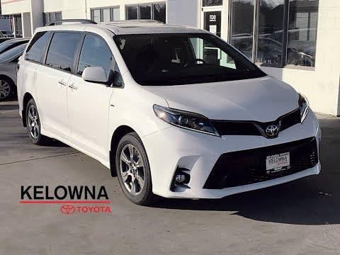 New 2019 Toyota Sienna SE I Technology Pkg. I JBL Audio I Navigation