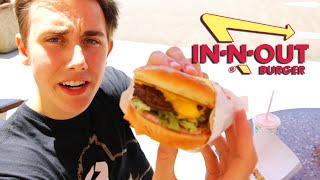 TRYING IN 'N OUT BURGERS FOR THE FIRST TIME!
