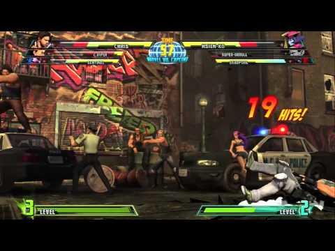 xbox 360 - ps3 :Marvel Vs Capcom 3 gameplay