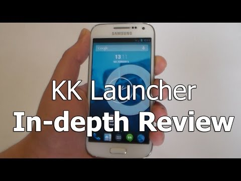 Video of KK Launcher (KitKat,L launcher