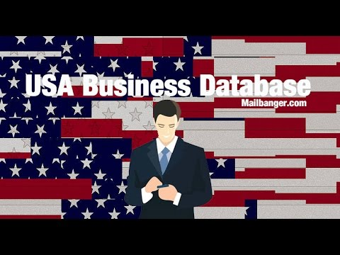US business email database list for b2b marketing