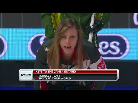 2019 Scotties Tournament of Hearts - Homan (ON) vs. McCarville (NO) - Draw 1