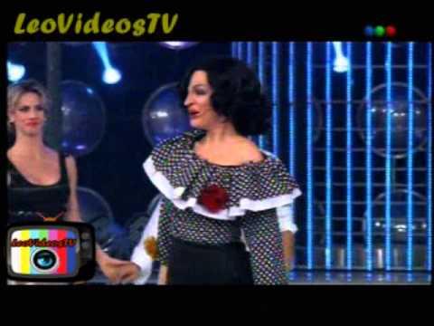 Leticia bredicce es Tita Merello en Tu cara me suena 3 #GH2015 #GranHermano