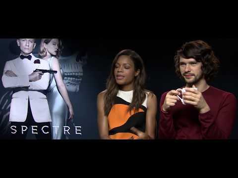 Naomie Harris and Ben Whishaw – James Bond Pop Quiz