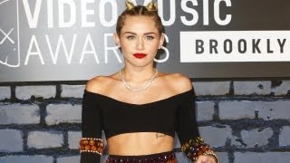 Miley Cyrus' Shocking Oufit At The MTV Video Music Awards 2013