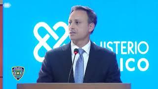 Rueda de prensa caso David Ortiz desde la Procuraduría General de la República