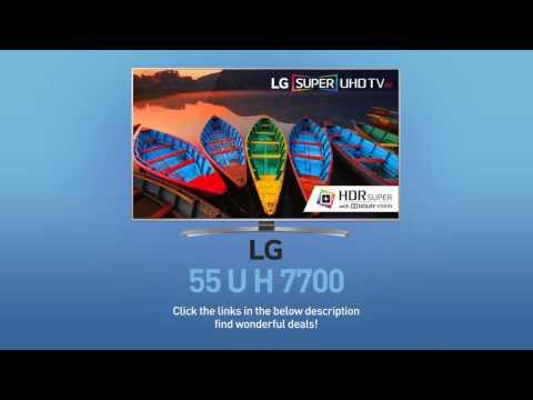 LG 55UH7700 Super UHD 4K HDR Smart LED TV - 55