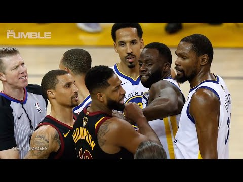 Draymond Green CLOWNS Tristan Thompson In Unseen Game 4 Video