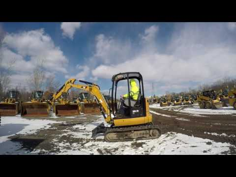 CATERPILLAR トラック油圧ショベル 302.7DCR equipment video Zl4PvnWNmJQ