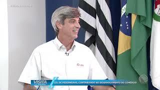 Visita Na Record - CDL Pederneiras - 09/05/2021