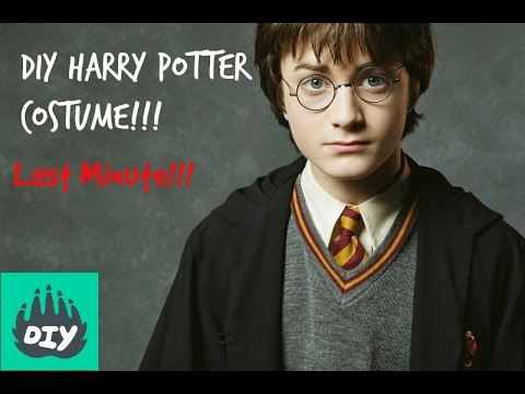 DIY Harry Potter Costume!