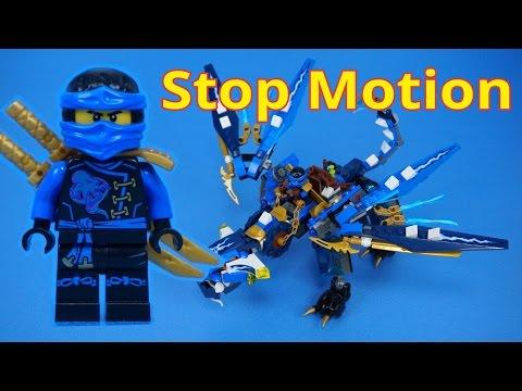 Vidéo LEGO Ninjago 70602 : Le dragon élémentaire de Jay
