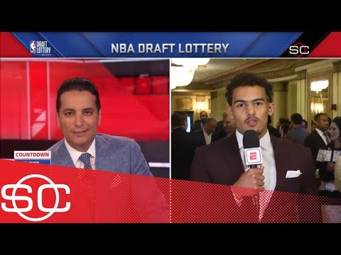 Trae Young reveals the advice Stephen Curry gave him about the NBA draft | SportsCenter | ESPN