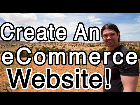 How to Create an ECOMMERCE Website with WordPress – Online Store!