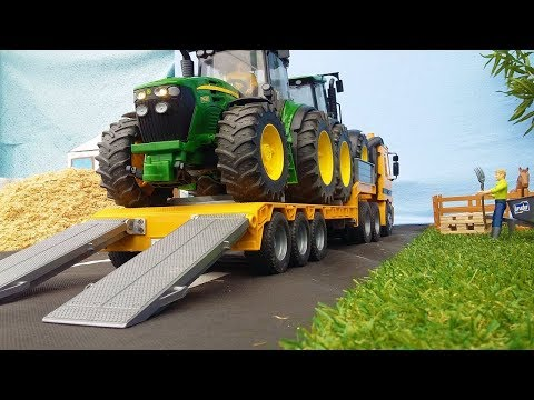 Best of Bruder RC Heavy Haulage! Trucks, Low loaders, Tractors, Excavators!
