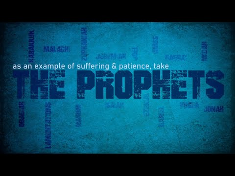 Thursday AM - Consider the Prophets