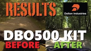 5. CanAm Outlander 500XT - DBO500 CLUTCH KIT - Before and After Tests
