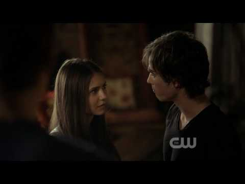 The.Vampire.Diaries  1x02  First meeting between Damon and Elena.