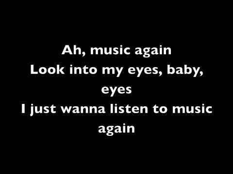 Adam Lambert – Music Again Lyrics