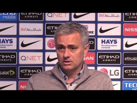 Manchester City 0-0 Manchester United - Jose Mourinho Full Post Match Press Conference (видео)