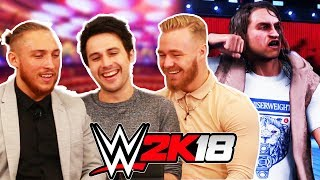 WWE 2K18 W/ PETE DUNNE & TYLER BATE vs. Youtube (feat. BlackHeron & Chris Danger) NXT UK