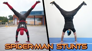 Video Doing Stunts From The Amazing Spider-Man In Real Life (Spiderman Parkour) MP3, 3GP, MP4, WEBM, AVI, FLV Oktober 2018