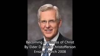 Becoming a Witness of Christ