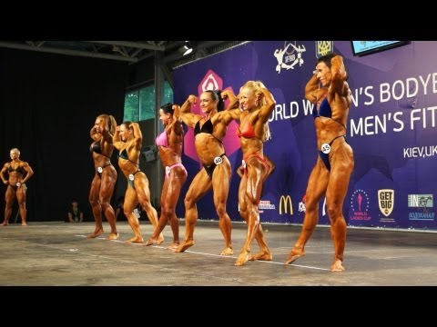 World Women's Bodybuilding Championship Kiev Ukraine 2013