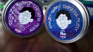 This is just my review of Crazy Aaron's Thinking Putty Primary Blue and Purple review. You can find them here:https://puttyworld.com/collections/primaries