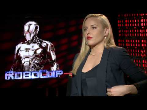 RoboCop 2014: Abbie Cornish Official Movie Interview