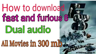 Nonton How can download fast and furious 8/dual audio Movies in 300 mb. Film Subtitle Indonesia Streaming Movie Download