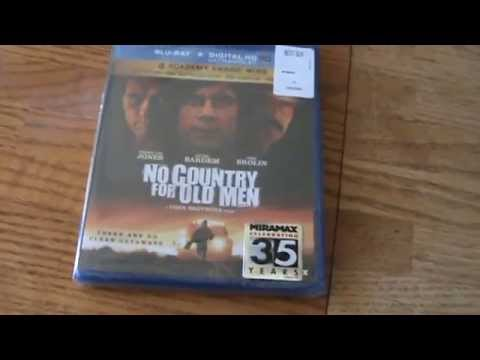 No Country For Old Men Blu-Ray Unboxing