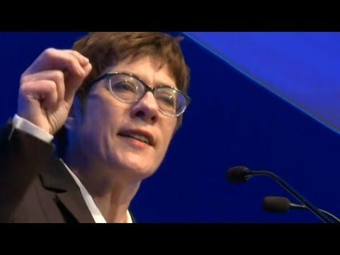 CDU: Vorsitzende Kramp-Karrenbauer verliert viele Sym ...