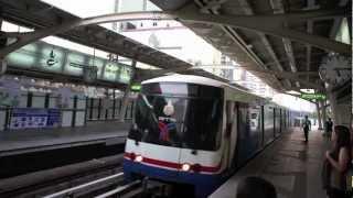 バンコク市内観光BTSチットロム駅