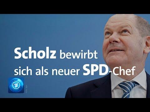 Scholz: Bewerbung um SPD-Vorsitz - fünf Zweierteams und drei Einzelbewerber kandidieren bisher